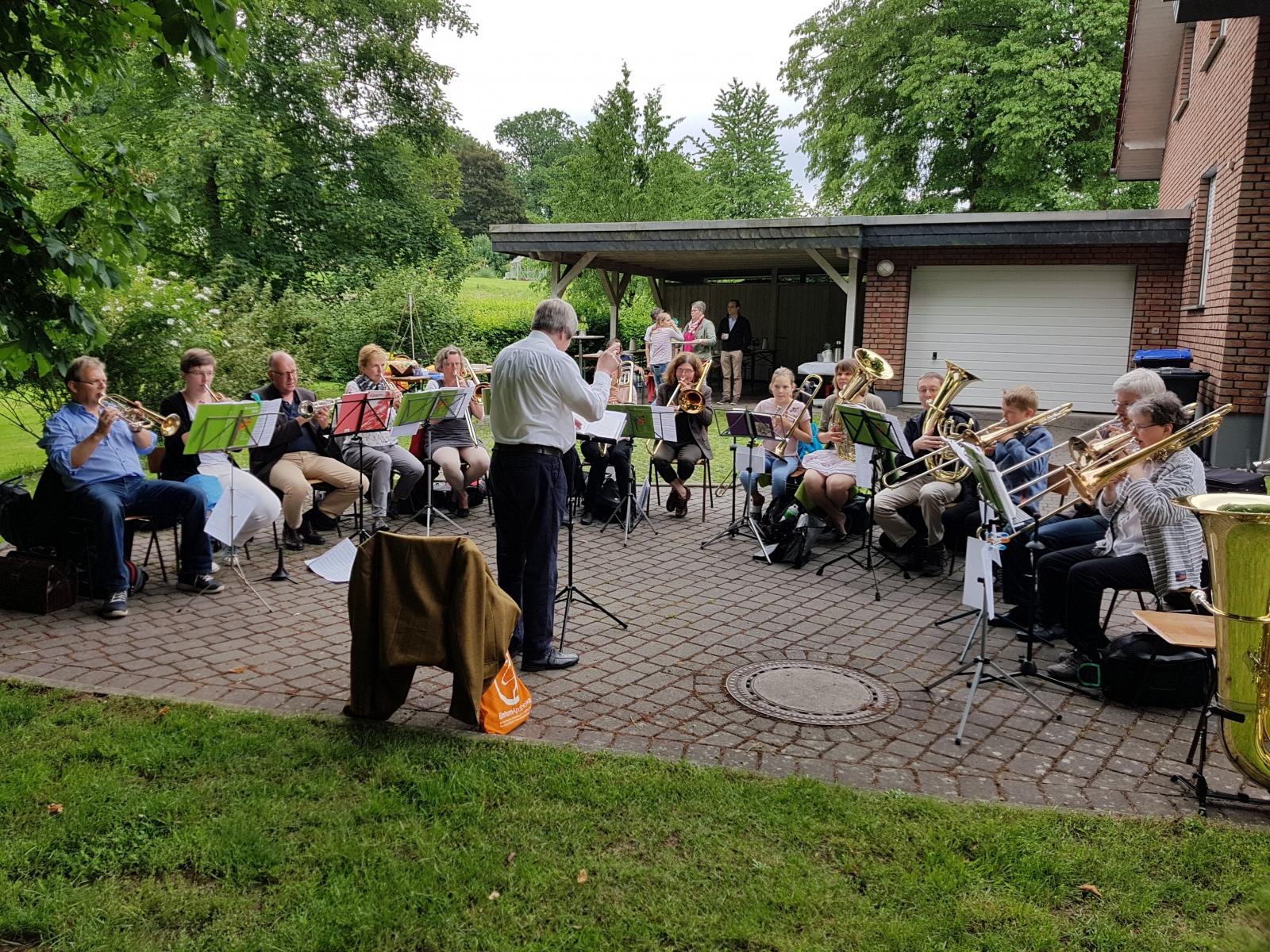 Gartengottesdienst in Brokhausen