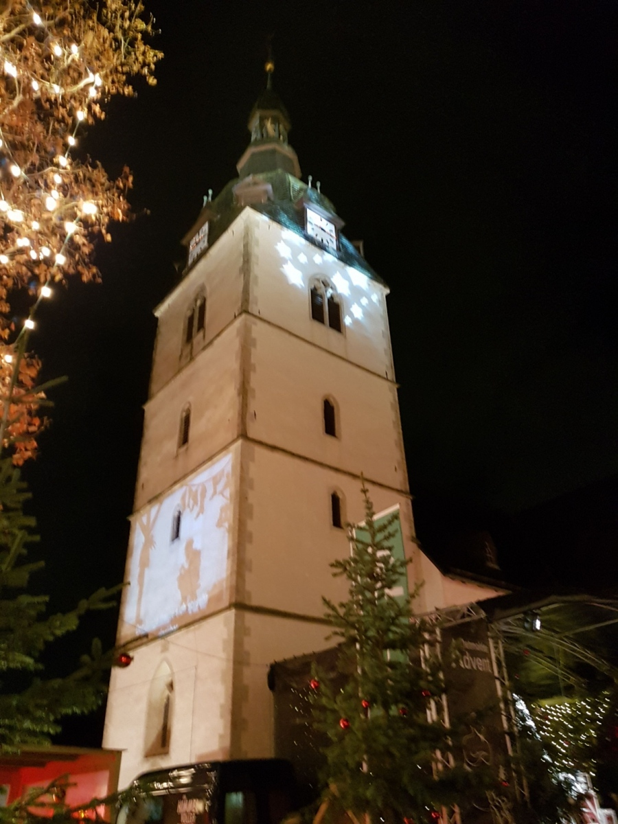 Turm der Erlöserkirche Detmold